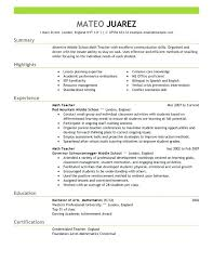 Resume In Spanish Example And How To Say Resume In Best Resume Beauteous Perfect Resume Example