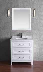 white 30 inch bathroom vanity. Toscana 30 Inch White Vanity (1) Bathroom 3