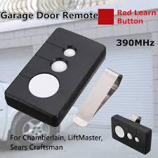 CRAFTSMAN GARAGE DOOR Opener 3 button Remote 139.53681B 390MHz ...