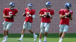Giants Depth Chart After Eli Manning The Giants Qb Depth Chart Is Up In The