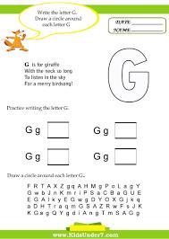 Letter G 1