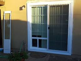 dog door sliding insert designs rooms decor and ideas
