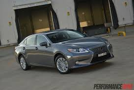2014 Lexus ES 350 Sports Luxury review (video) | PerformanceDrive