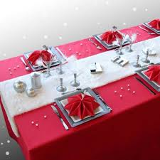 red and silver table decorations. 33 Red And Silver Table Setting Ideas For Christmas Decorations E