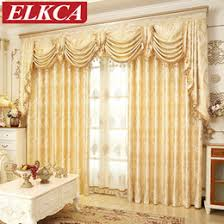 elegant bedroom curtains. Exellent Curtains European Golden Royal Luxury Curtains For Bedroom Window  Living Room Elegant Drapes Curtain And T