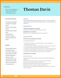 Best Resume Format 2018 Template No2powerblasts Com Cv Photo Cover
