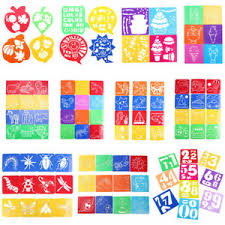 Printable Stencils For Kids Kids Children Plastic Picture Drawing Template Stencils Rulers