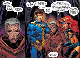 this story is one i always enjo the adventures of cyclops and phoenix slim and red are sent to the future and and raise their son cable
