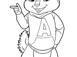 alvin and the chipmunks coloring pages and the chipmunks coloring pages free printable chipmunks coloring pages