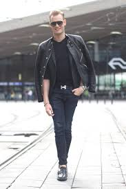 acne studios leather jacket men