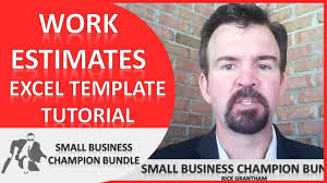 excel business templates work estimate spreadsheet excel business templates work estimate spreadsheet