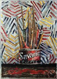 savarin painting jasper johns savarin art print