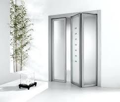 interior accordion doors with frosted glass and aluminium door frame design ideas bifold closet canada