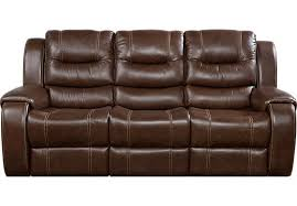 affordable leather sofa. Fine Sofa Veneto Brown Leather Reclining Sofa  Sofas Brown Throughout Affordable A