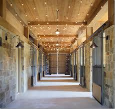 tuscan style le with white string lights running along ceiling great barn idea for the holidays or all year round dream home