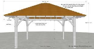 hip roof patio cover plans. Hip Roof Pavilion Designs Patio Cover Plans
