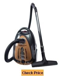 soniclean bare floor pro canister vacuum