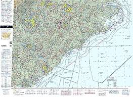 Aeronautical Navigation Charts Faa Chart Vfr Sectional Charlotte Scha Current Edition