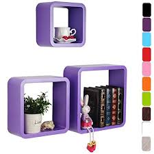 Purple Floating Shelves Extraordinary WOLTU RG322dla 32 X Floating Wall Shelf Floating Shelves Storage