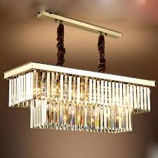 gold rectangle chandelier cascade light chrome finish crystal rectangle chandelier pertaining to contemporary