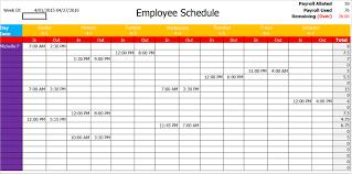 microsoft employee schedule template 9 excel template for employee schedule proposal sample
