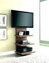 hide tv cables in wall cable box wall mount behind wall mount cable box shelf best