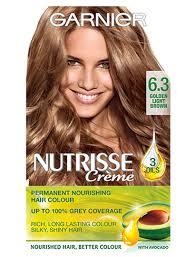 Garnier Nutrisse 6 3 Golden Light Brown Permanent Hair Dye