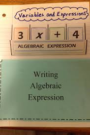 there are also some practice problems yes i know it should say algebraic expressions