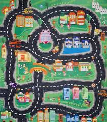 road rug for toy cars ikea nursery rugs childrens bedroom car play toys r us area coffee tables rustic mat dining kids s race