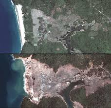 earth from afar tsunami 2004 the villages of birek and seungko mulat geocarto international vol 23 no 4 2008 pp 327 335