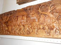 By abcproduction spain ambassador on paete laguna with mel & joey and dr. Paete Laguna Wood Carving Stores Wood Carving Hd Images