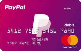 Paypal Prepaid Mastercard Paypal Prepaid