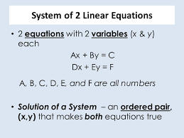 reasoning with equations and inequalities ppt
