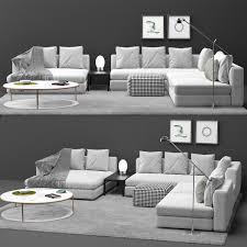 Interior Design 3d Models Free Sofa Hamilton Minotti 3d Models Free Download 3dart