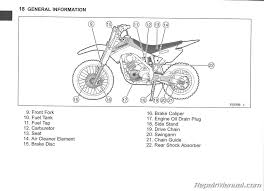 2014 kawasaki klx140a b l motorcycle owners manual repair 2014 kawasaki klx140a b l owners manual page 3