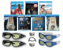 sharp 3d glasses. sharp 3d glasses deluxe family pack rechargeable compatible ultra-clear dlp link sharp 3d