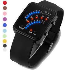 <b>Fashion</b> Unisex Men Womens Watches Silicone Band <b>Digital LED</b> ...