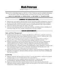 skills for sales representative resume orthopedic sales representative sample resume awesome sales rep