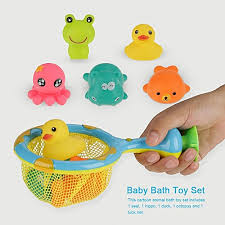 Generic <b>Cartoon Animal</b> Infant Baby Bath <b>Toys</b> Interesting <b>Children</b> ...