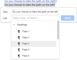 Choose Your Own Adventure Story Template Control Alt Achieve Choose Your Own Adventure Stories With Google Docs
