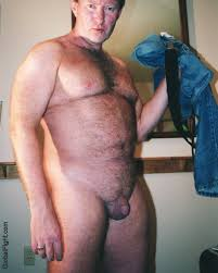 Bear man naked gay hairy