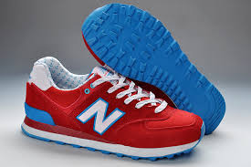 new balance shoes red and blue. new balance 574 wl574yrd red white blue shoes and k