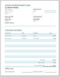 Reimbursement Sheet Template Expense Reimbursement Form Templates 17 Free Xlsx Docs