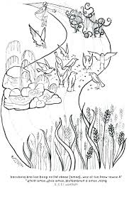 Parable Of The Talents Coloring Page Parable Of The Talents Coloring