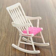 mini doll furniture. DIY Mini Doll Rocking Chair Accessories For House Room Dollhouse Decoration Rocker Toys Children Kid Girls Toy-in Dolls From \u0026 Hobbies Furniture D