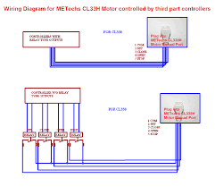 wiring diagram for cl33h controlled by third part controllers wiring diagram for cl33h controlled by third part controllers