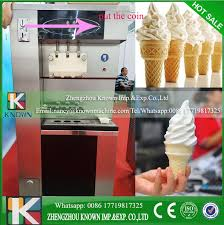 Commercial Ice Vending Machine New Commercial 48 Flavors Coins Ice Cream Vending Machine Automatic Soft