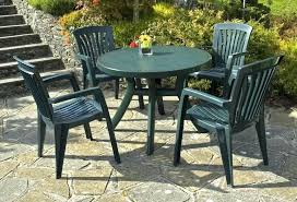 round plastic patio table with removable legs cozy white and chairs interesting outdoor furniture resin