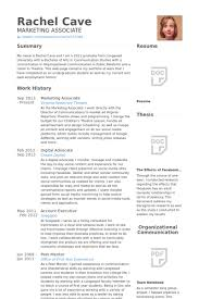 Digital Advocate Resume samples