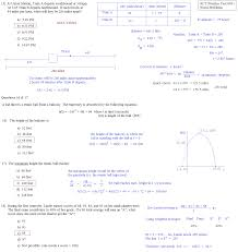 act practice test 005 word problems d solutions